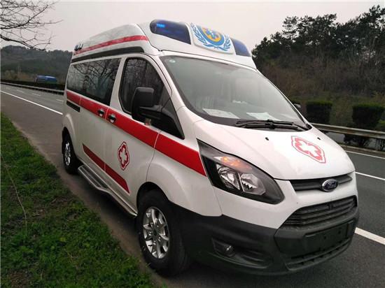 福特新全顺V362救护车