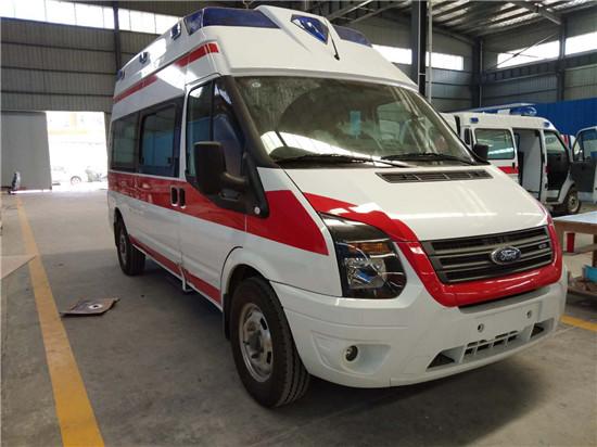 福特新世代V348救护车(卧铺版)