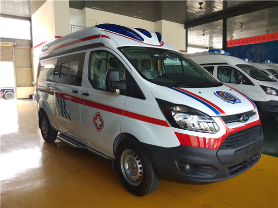 福特新全顺救护车(监护型/运输型)