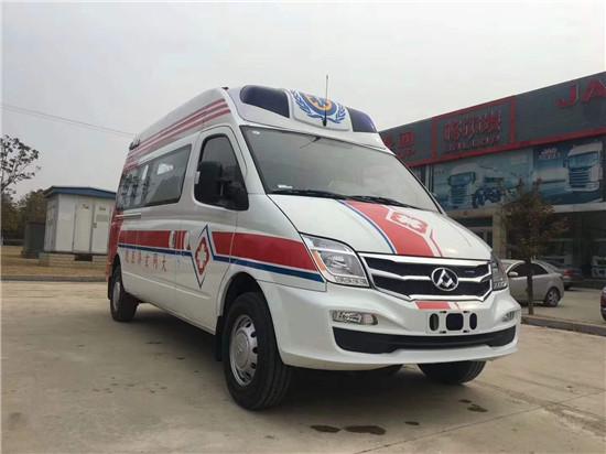 大通V80监护型救护车(国V柴油)