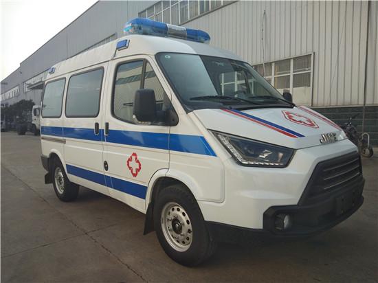 江铃特顺短轴救护车(监护型)