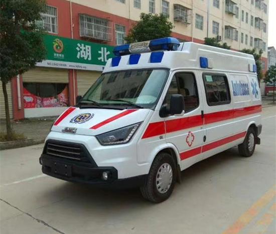 江铃特顺福星高顶长轴救护车