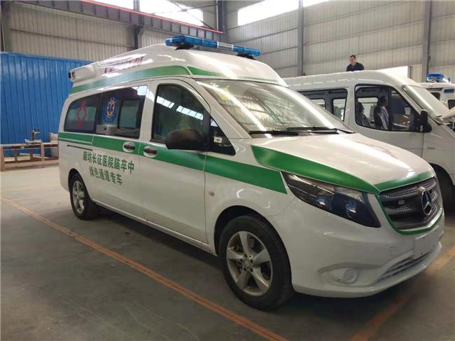 奔驰威霆救护车(国五)