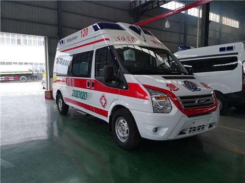 江铃全顺V348救护车(福星顶)