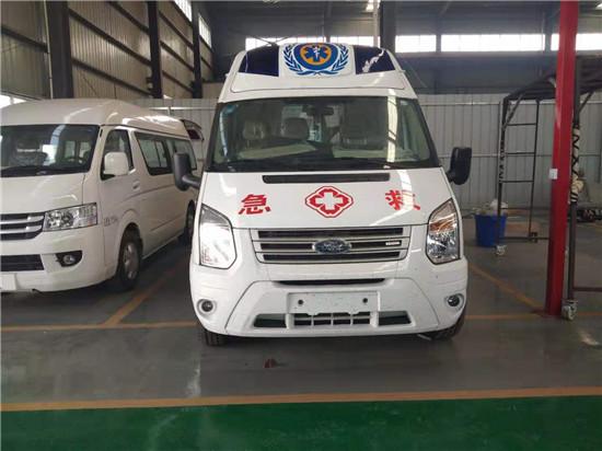 江铃福特V348救护车厂家