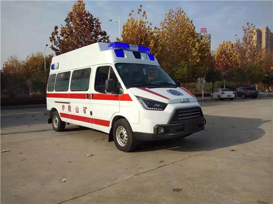 江铃大型矿山救护车