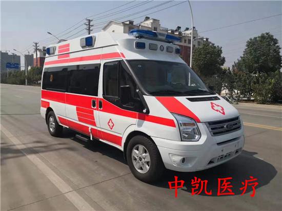 江铃全顺新世代V348救护车(长高航空版)