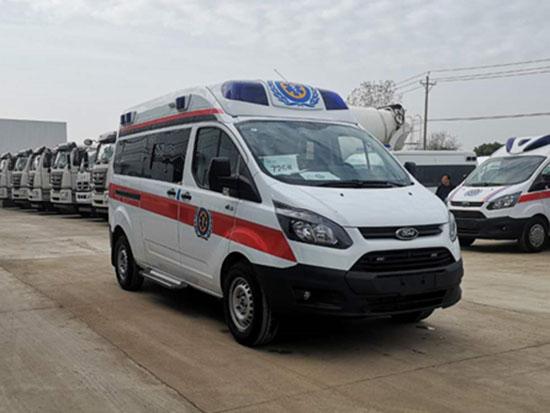 国六江铃全顺V362救护车航空版