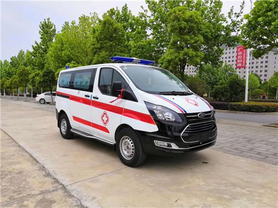 江铃V362自动档救护车(短轴低顶行政版)