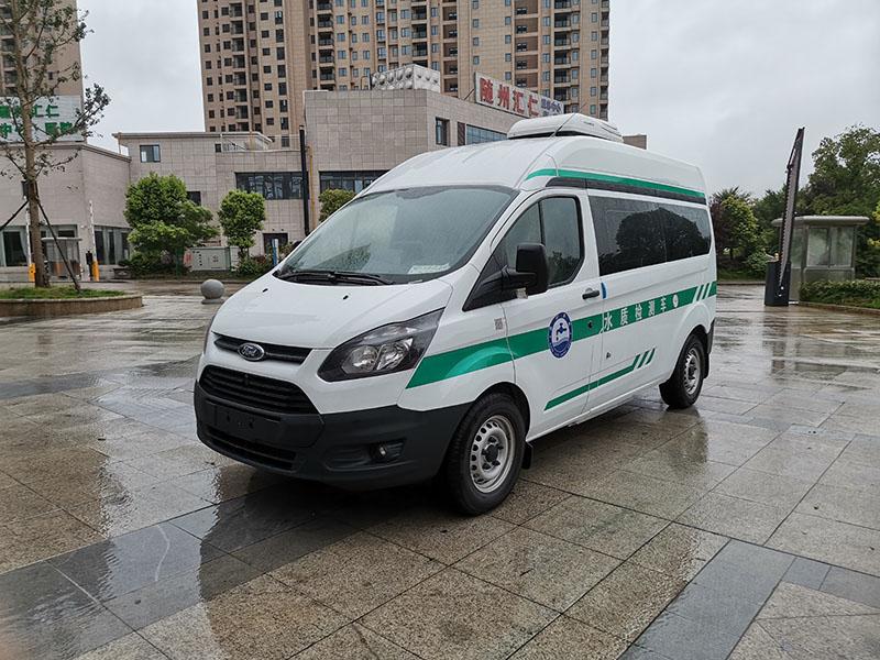 福特新全顺国六水质检测车