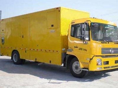 800KW电源车